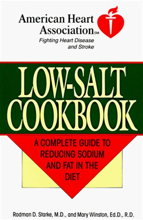 Pdf American Association Low Salt Cookbook pdf the american association low salt cookbook a