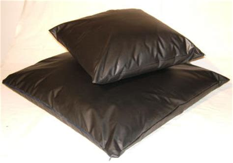 Black Leather Cushions by Safefoam Replacement Foam Cushion Suppliers Footstools