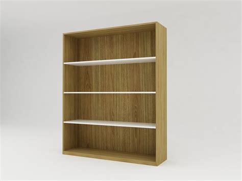 Rak Minimalis Minimalist Modern Furniture Rak Buku Kayu Minimalis 4 Rak Level White Teak Rak