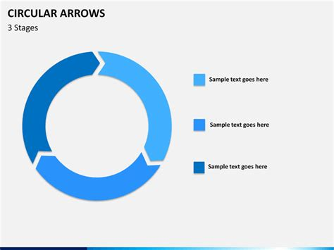 Circular Arrows Powerpoint Template Sketchbubble Circle Of Arrows Powerpoint