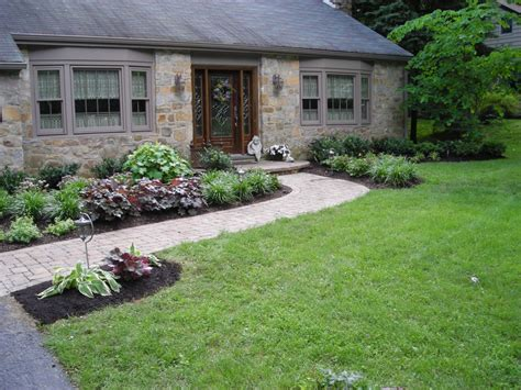 landscaping front entrance landscaping ideas