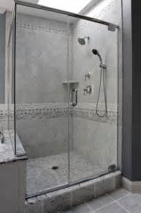 traditional bathroom tile ideas glass wall grey wall amp ceiling in bathroom color theme