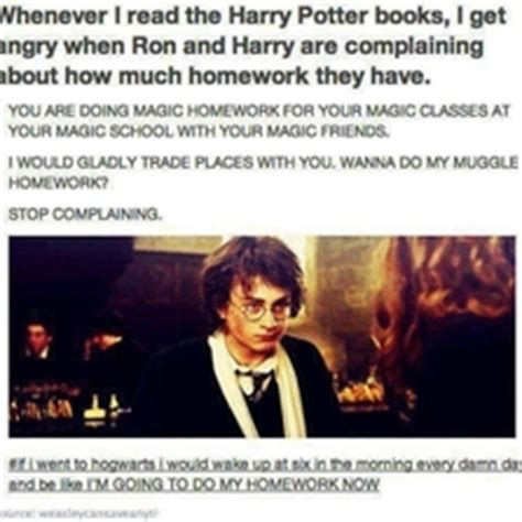 Harry Potter Meme Generator - harry potter character complaining about homework memes com
