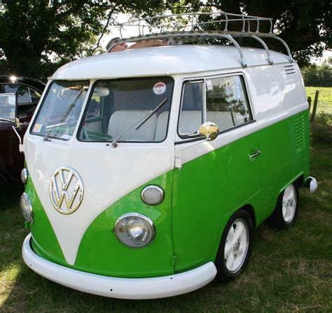 volkswagen van green glorious green the english room