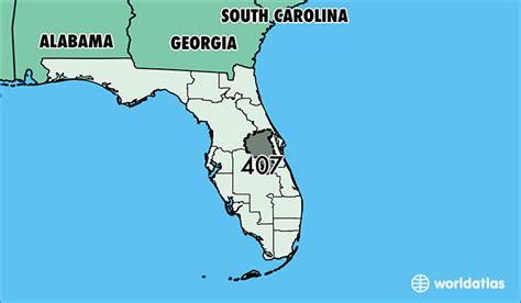 us area code florida 407 area code map laminatoff