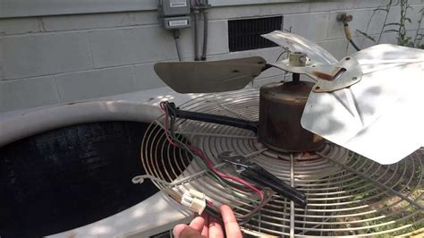 air conditioner fan motor how to replace a fan motor in an air conditioner
