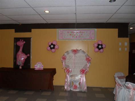 Pink And Brown Giraffe Baby Shower Decorations by Baby Shower Brown Pink And White Decorations By Teresa