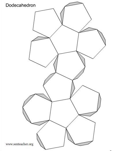 How To Make A Dodecahedron Out Of Paper - image gallery make dodecahedron