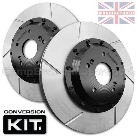 Kit Bell vw golf mk4 312 x 25mm 2 front brake disc conversion