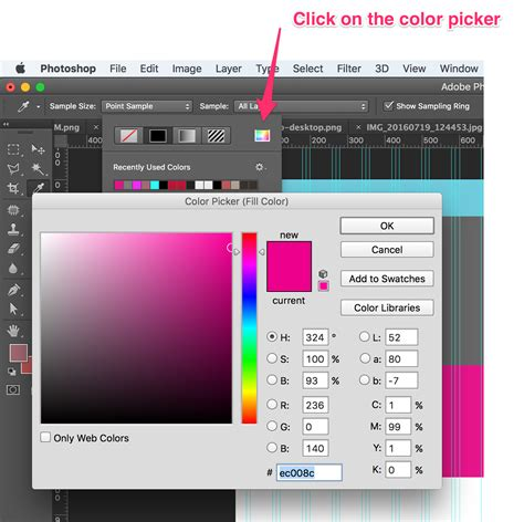 how to select a color in photoshop color how do i change the colour of a shape in photoshop