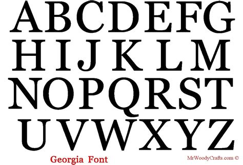 letters for letter a in different fonts letters exle