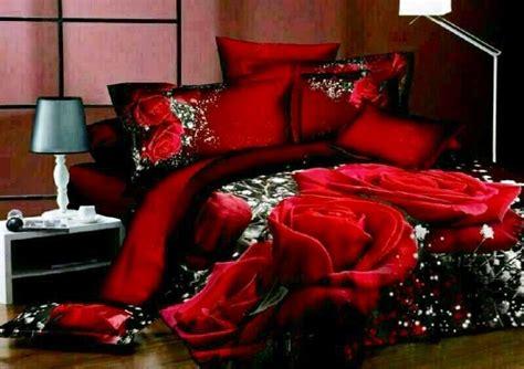 Double Size Red Roses Print 3d Duvet Bedding Set 100 Bedding Set 3d