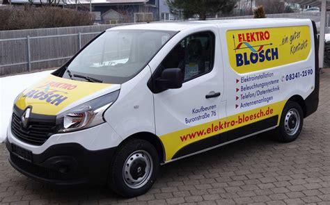 Fahrzeugbeschriftung Elektro by Transporterbeschriftung Werbung Auf Dem Kombi