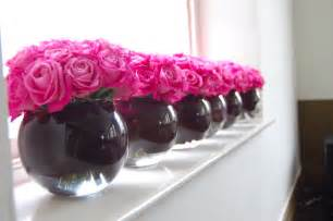 pink and black wedding decor black and pink decoration for your wedding in