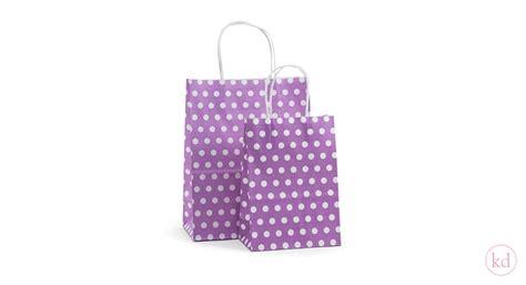 Lil Dot Stripe Sedotans Sky paperbag toptwist dots lila