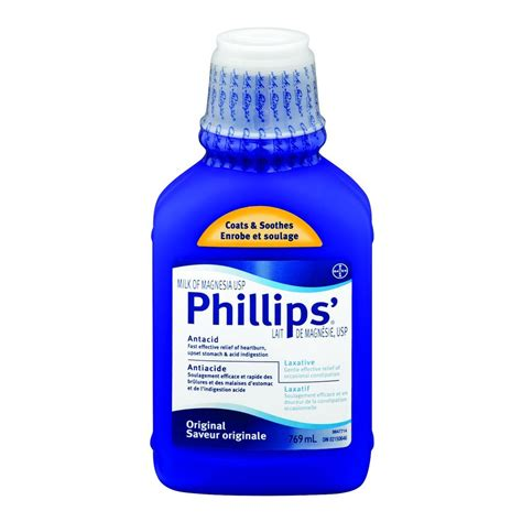 Phillips Milk Of Magnesia buy phillips milk of magnesia antacid 769 ml from value valet
