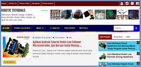 jurusan membuat robot 5 situs belajar robot terbaik ada bahasa indonesia