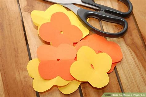 How To Make Paper Leis - how to make a paper 5 steps with pictures wikihow