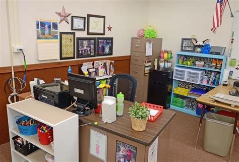 Teacher S Area Teacher Desk Organization Pinterest Classroom Desk Organization Ideas