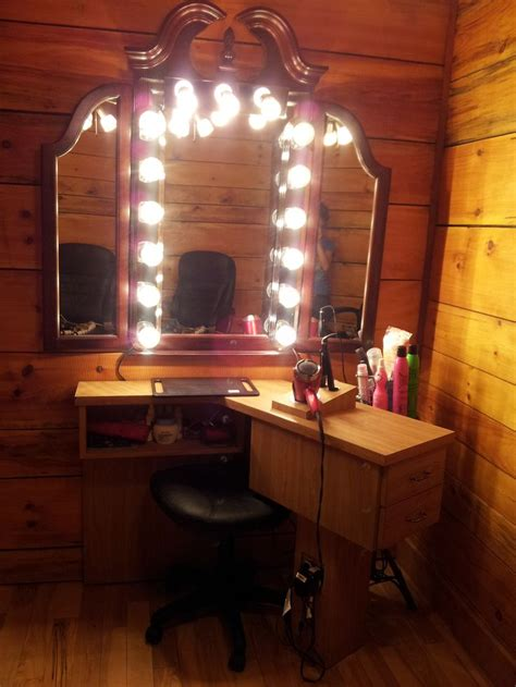 hair makeup station in house i had an