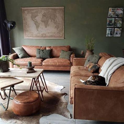 ab home interiors 25 beste idee 235 n over woonkamer groen op pinterest