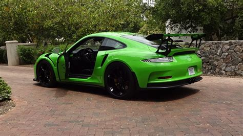 Porsche Gt3 Rs Green by Ride In A 2016 Porsche Gt3 Rs In Green Why Not On My Car
