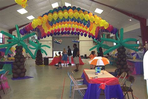 tropical decoration atlanta party decorations