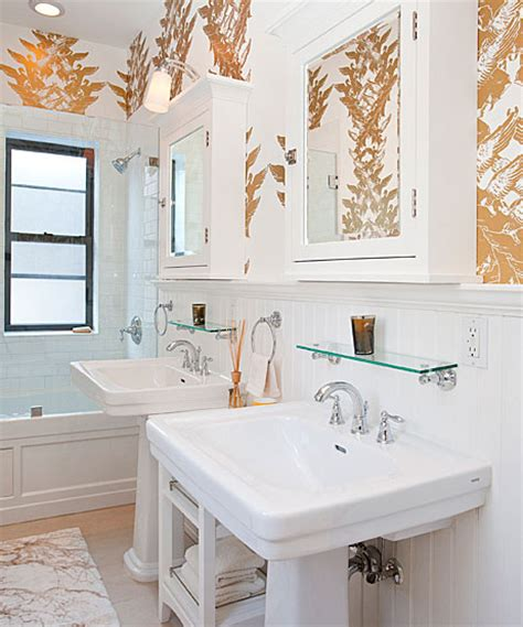 gold bathroom walls gold walls contemporary bathroom the brooklyn home company