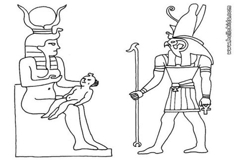 free coloring pages egyptian gods egyptian god coloring pages hellokids com
