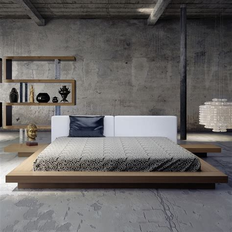 Japanese Style Platform Bed With Storage Para Inspirar O Estilo Na Decora 231 227 O Bontempo