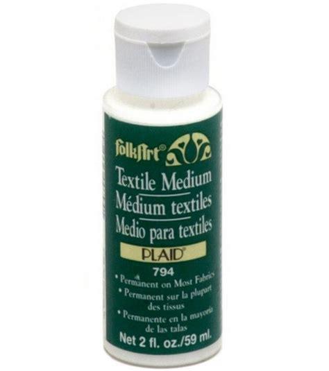 acrylic paint fabric medium folkart 174 acrylic textile medium 2 oz jo