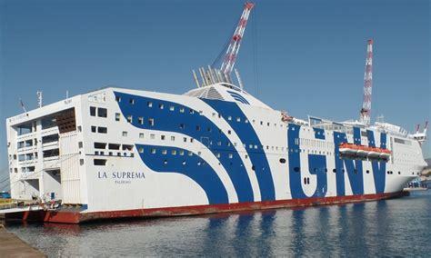 gnv la suprema gnv la suprema ferry grandi navi veloci cruisemapper