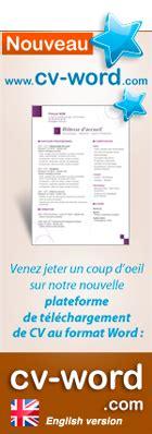 Télécharger Modèle Cv Word by Cr 233 Ation Mod 232 Le Cv Original Et Lettre De Motivation