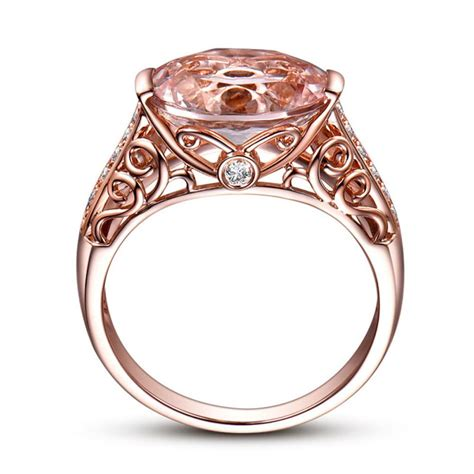 2018 new arrival the ring of morgan stone rose gold