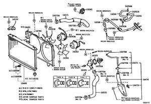 2003 Toyota Corolla Exhaust System Diagram Corolla Diy 1998 Toyota Corolla Ve 1zzfe Zze110 Radiator