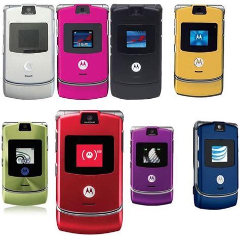 new motorola mobile motorola razr v3 unlocked flip mobile phone new boxed 10
