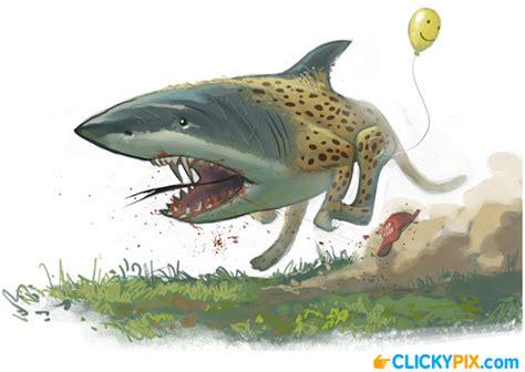 baby shark mix hybrid shark combo creatures 4 clicky pix