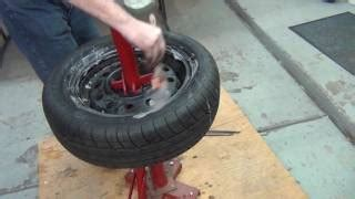 Mount Car Tires Yourself How To Balance A Tire Yourself Using A Balancer