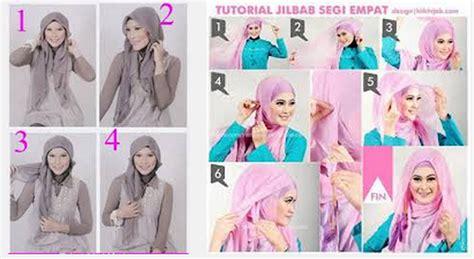 Tutorial Jilbab Segi Empat Elzatta tutorial cara memakai trend model jilbab elzatta segi empat dan harga terbaru model baju