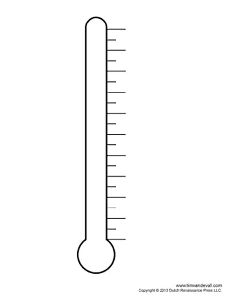 Fundraising Thermometer Templates For Fundraising Events Printable Thermometer Goal Chart
