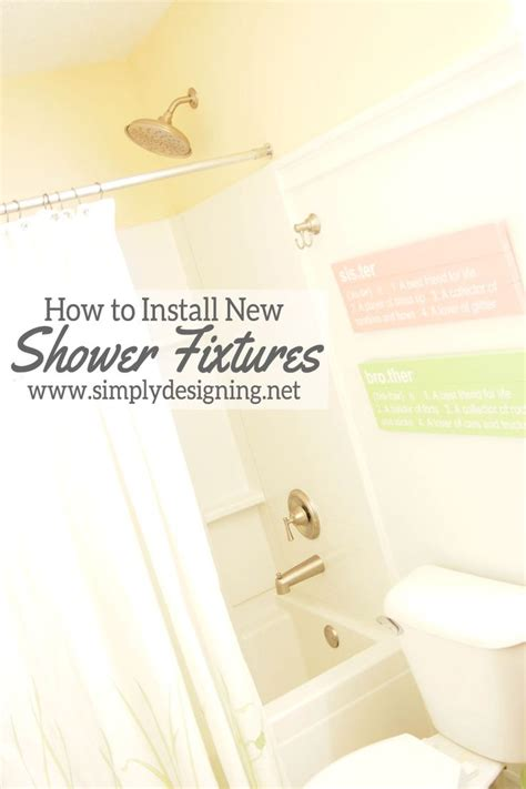 how to install a shower in an existing bathtub how to install a new bathtub faucet when it is