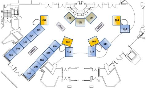 layout of exhibition hall srf2015