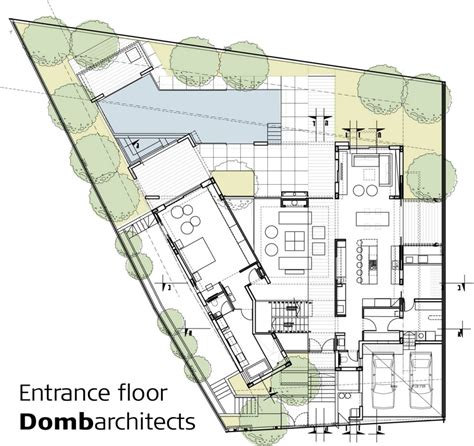 House Plans By Architects Dg House Domb Architects Architecture Architectural Drawings And Arch