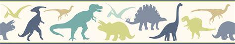 Warner wallpaper byr94303b dinosaur wall border interiordecorating com