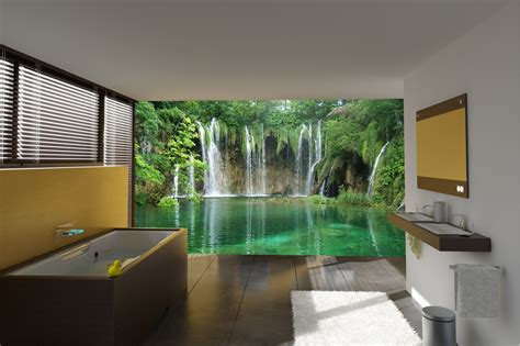 wall mural 14 beautiful wall murals design for your bathroom