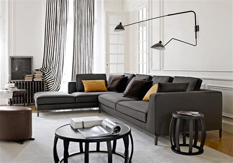 black and white living room curtains the elegant and minimalist ideas of black and white living