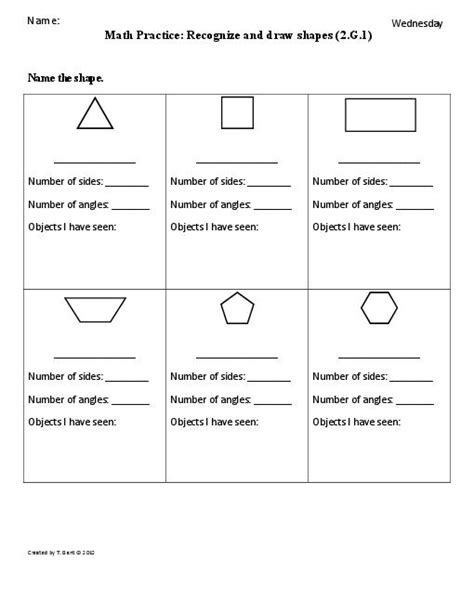 worksheets shapes grade 2 11 best images of math shapes worksheets grade 2 2