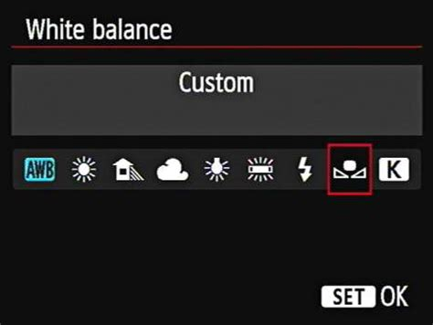 how to create a custom white balance on your canon eos 6d