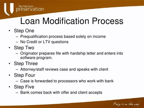 Hardship Letter For Keep Your Home California Home Loan Preservation Ppt