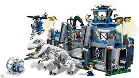 Mainan Lego 1 Set Dalam Box lego jurassic 75919 indominus rex bayi plus anak bayi